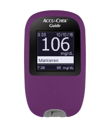Accu-Chek Guide - Schutzhülle violett