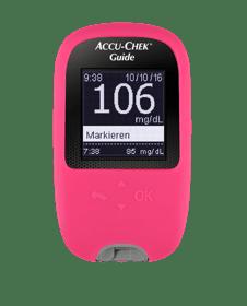 Accu-Chek Guide - Schutzhülle magenta