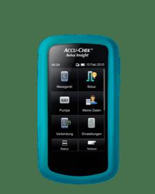 Accu-Chek Aviva Insight - Schutzhülle neonblau
