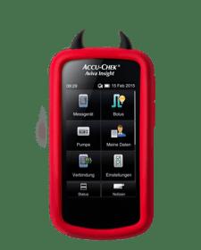 Accu-Chek Aviva Insight - Schutzhülle rot