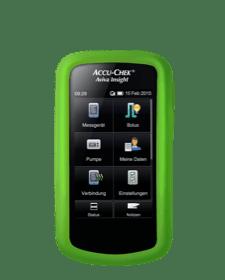 Accu-Chek Aviva Insight - Schutzhülle grün