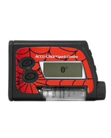 Accu-Chek Spirit Combo - Sticker Spider / Fußball