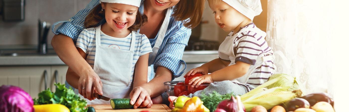 Gesund kochen und lecker essen mit den richtigen Rezepten.