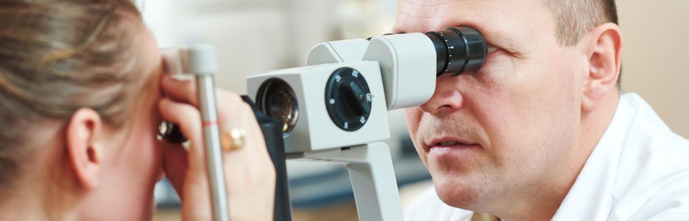 Bei Diabetes und Augenerkrankungen sind regelmäßige ärztliche Untersuchungen das A und O.