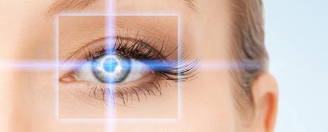 Augenuntersuchung Laser